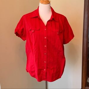 CJ Banks button down shirt